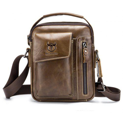 BULLCAPTAIN Men Genuine Leather Shoulder Bag BULLCAPTAIN Men Genuine  Leather Shoulder Bag ... acc2d2d8643f4