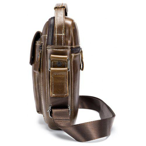 ... BULLCAPTAIN Men Genuine Leather Shoulder Bag ... d7cbb849cb827