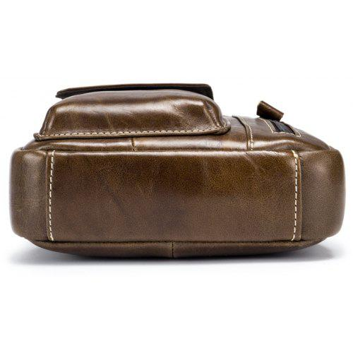 ... BULLCAPTAIN Men Genuine Leather Shoulder Bag 08a146967a182