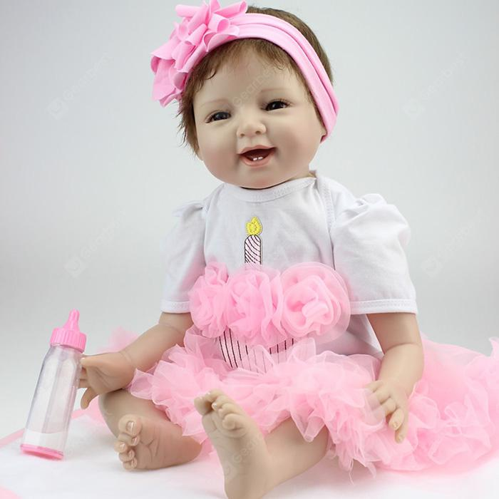 NPK Emulate Reborn Baby Smile Doll Stuff