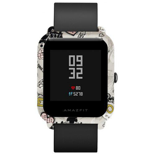 Gearbest TAMISTER Protector Case for Huami AMAZFIT Youth Ed. - COLORMIX STYLE 5