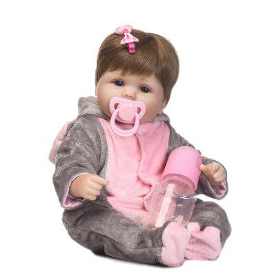 NPK Emulate Reborn Baby Doll Sleep Helper Toy Gift