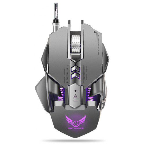 ZERODATE X300GY Wired Gaming Mouse with Adjustable DPI