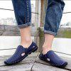 Loafers Casual Driving Hollow Out for Men - BLUE