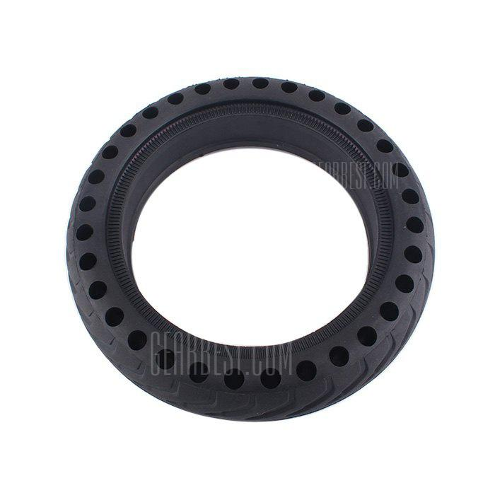 21cm Solid Rear Tire for Xiaomi M365 Electric Scooter - BLACK