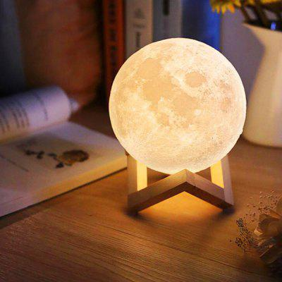 USB 3D LED Magical Moon Lamp