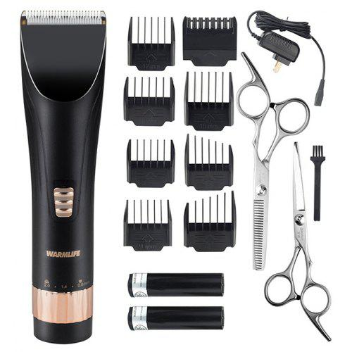 Warmlife Professional Cordless Hair Clippers Set Electric Trimmer For Men And Baby Rechargeable Haircut Kit