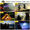 YWXLight 30W LED Headlamp Waterproof Helmet Light for Camping Hiking Outdoor Sports - BLACK