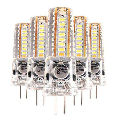 YWXLight G4 4W 3014SMD 36-LED Blanco Cálido LED Bi-pin Luces de 5 Piezas