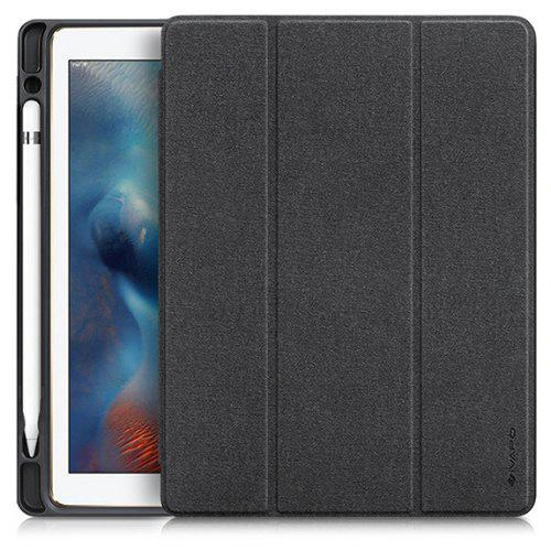 the best attitude ae6a3 c135b iVAPO for iPad Pro 10.5 Case PU Leather Slim Smart Cover With Pencil Holder  Auto Sleep/Wake Function