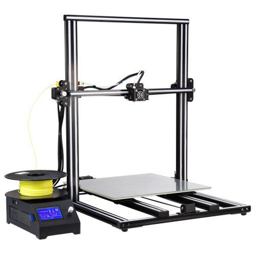 Alfawise U10 3D Printer 40 x 40 x 50cm Printing Size DIY Kit - BLACK