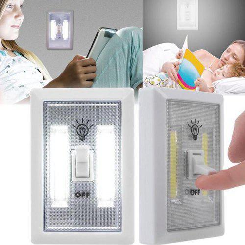 Cob Led Wireless Night Light With Switch 2pcs 491 Free Shipping