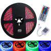 YWXLight 5M Waterproof 44Key Remote Control Flexible LED Light Strips - RGB