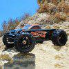 DHK HOBBY 8382 Maximus 1:8 Brushless RC Monster Truck - RTR - BLACK AND ORANGE