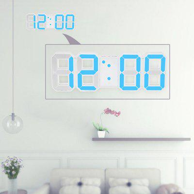 Creative 3D LED Digital Table Wall Clock with USB Charging