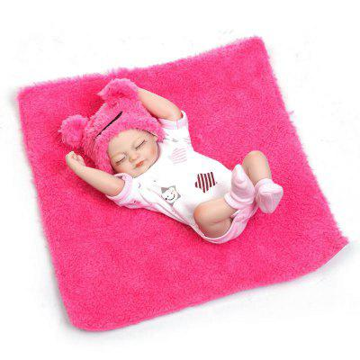 NPK Emulate Reborn Little Girl Baby Doll Stuffed Toy