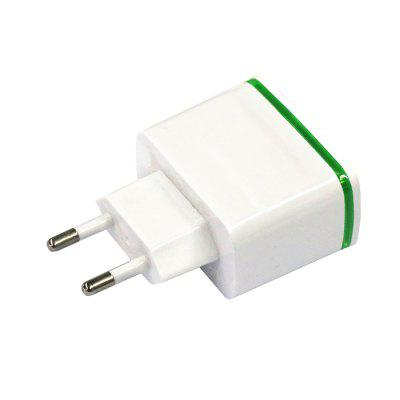4 USB Ports Wall Charger Power Adapter AC 100 - 240V