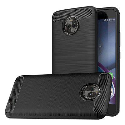 Naxtop Wire Drawing Dirt-proof Back Case for Moto X4