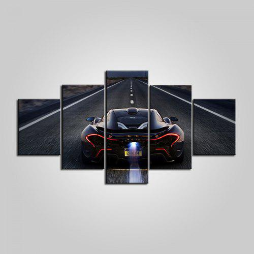 MCLAREN P1 YELLOW SUPERCAR FAST GIANT WALL POSTER ART PICTURE PRINT LARGE HUGE