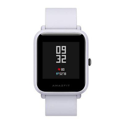 Xiaomi Huami AMAZFIT Bip Lite Version Smart Watch english version original xiaomi huami amazfit youth smart watch bip bit face gps fitness tacker heart rate baro ip68 waterproof
