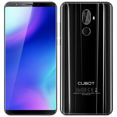 Gearbest $119.99 for CUBOT X18 Plus 4G Phablet - BLACK  promotion