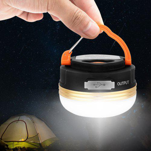 BRELONG Rechargeable Camping Lantern Power Bank Light Lamp -  9.69 Free  Shipping 49884fbad2c9