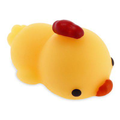Cute Cartoon Chick Mini Animal TPR Jumbo Squishy Toy