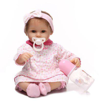 NPK Soft Silikon Reborn Baby Doll Geschenk Pretend Play Toy