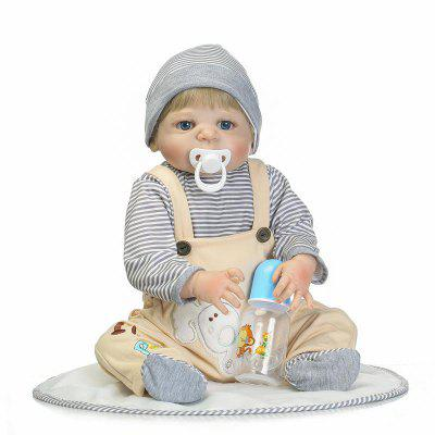 NPK Full Silicone Emulate Reborn Baby Doll Kids Toy Gift