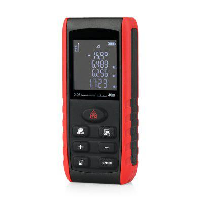 Measure Up to 40m without Tapes! KXL - E40 Handheld Laser Distance Meter is the Best Choice for Instant Measurement Under $20!