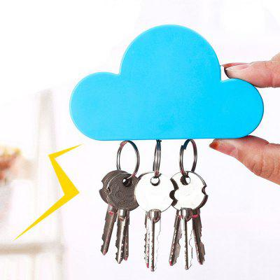 Cute Magnetic Cloud Key Holder
