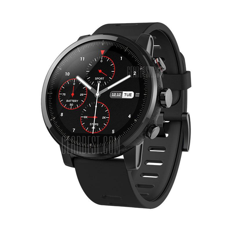 Xiaomi Huami Amazfit Smartwatch 2 English Version - BLACK