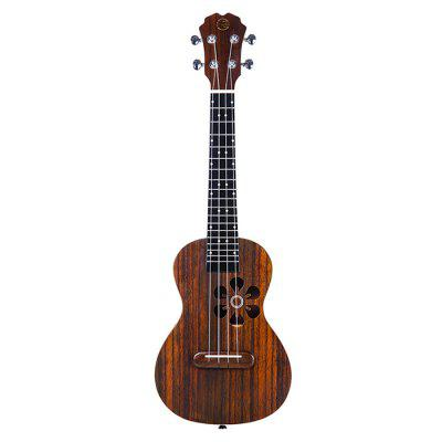 Populele S1 Smart Ukulele for Beginner Adults BURLYWOOD