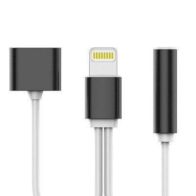 gocomma USB 3.1 Type C Audio Charging Cable Type C To 3.5 Aux Jack Earphone Audio Cable Adapter Charger For Xiaomi 6 Letv Pro 3 LeEco Le 2 Pro Max2 For iPhone 7 Plus 6 6S Plus