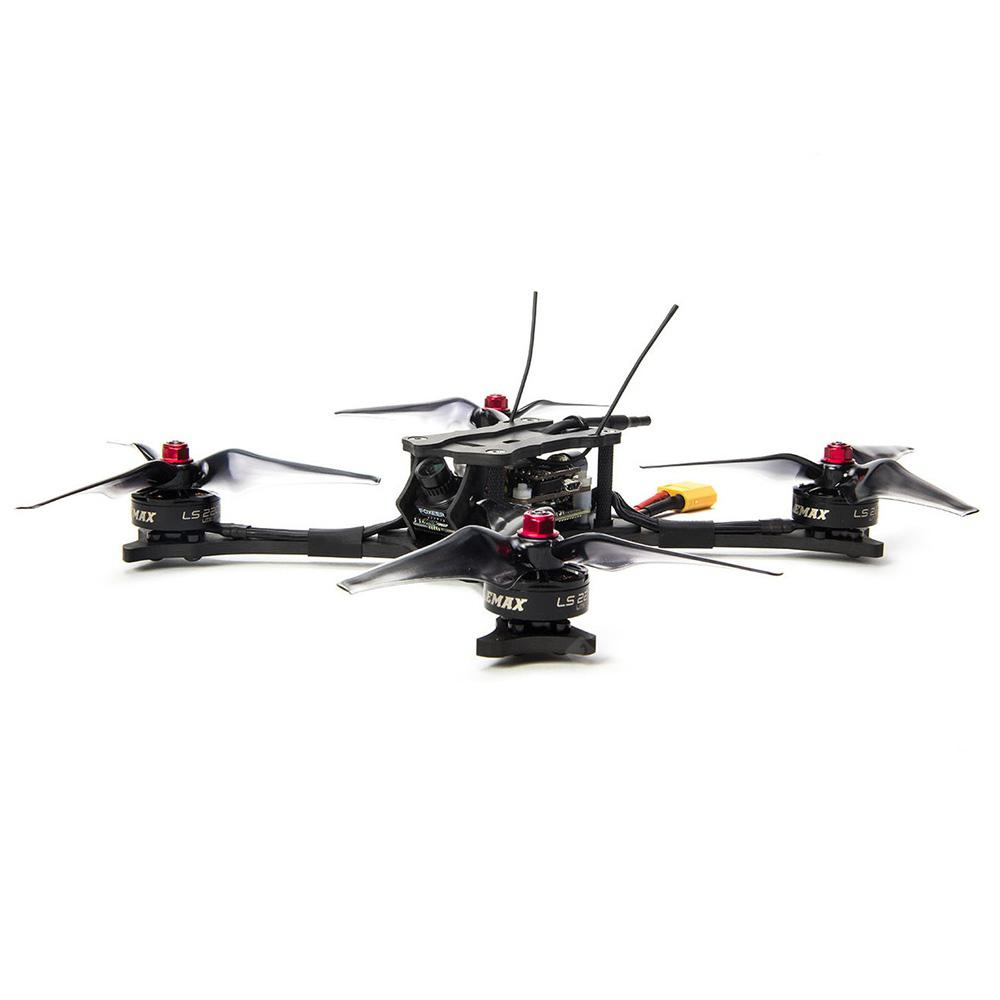 EMAX HAWK 5 FPV Racing Drone 600TVL Camera - BLACK PNP VERSION ( NO RECEIVER )