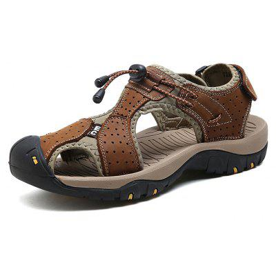 Men Trendy Comfortable Anti-slip Leather Sandals