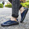 Men Trendy Summer Breathable Casual Shoes - DENIM DARK BLUE