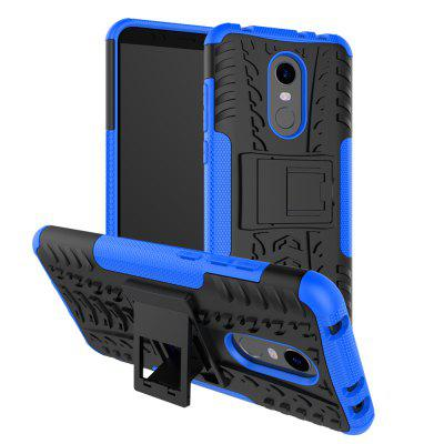 Luanke PC + TPU Phone Case with Holder