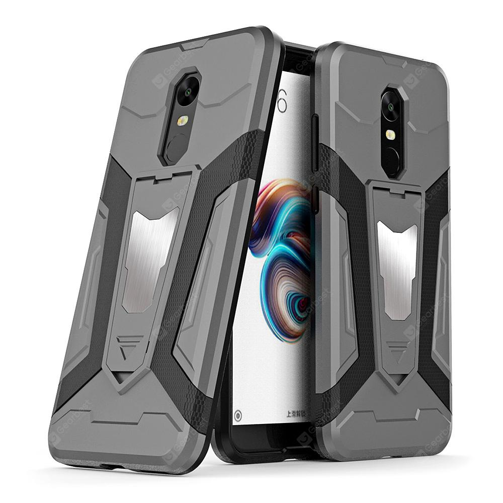 Luanke PC + TPU Protective Phone Case with Holder