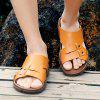 Men British Soft Lightweight Casual Daily Slippers - SANDY BROWN
