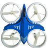 Mini Noctilucous Hand RC Drone Height Hold / Headless Mode - BLUE