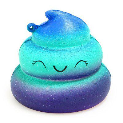 Jumbo Squishy Poop Emoji Stress Relief Soft Toy for Kids and Adults