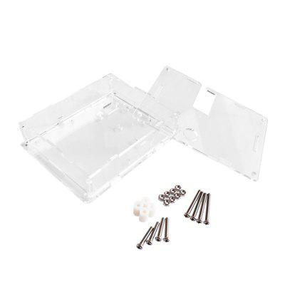 Transparent PCB Case for Transistor Checker LCR - T4