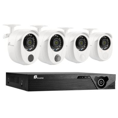 Houzetek SN - NVK - 8003W10 Four Channel DVR Security Kit