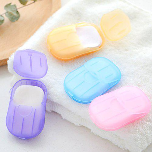 Other Bathroom Accessories. Mini Washing Hand Bath Travel Soap Paper 1 Box 03cded3dce08