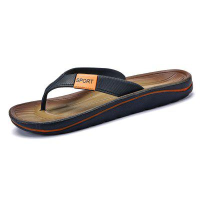 Men Trendy Street Anti-slip Flip-flops Slipper