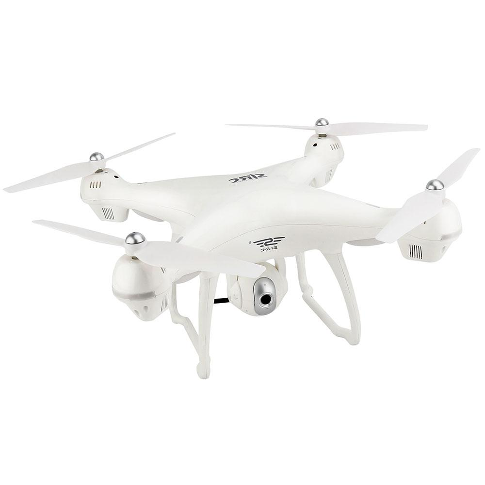 SJRC S70W RC Drone WiFi FPV / Double GPS Module - WHITE 1080P CAMERA