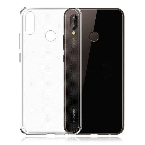 Naxtop Transparent Back Case for HUAWEI P20 Lite
