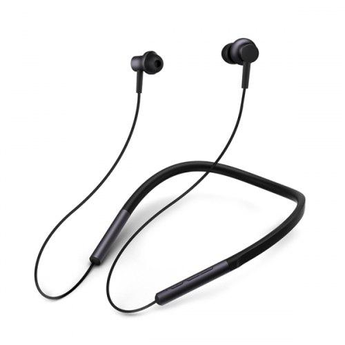 Xiaomi LYXQEJ01JY Bluetooth Earphones Necklace Earbuds - BLACK