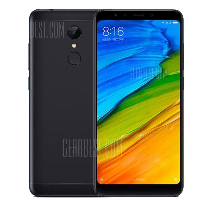 Xiaomi Redmi 5 4G Phablet Global Version - BLACK    3+32Go
